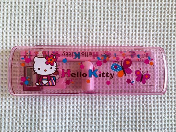Conjunto estojo Hello Kitty