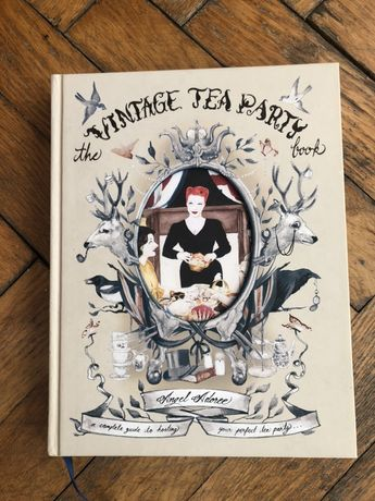 Książka The Vintage Tea Party book Angel Adoree pin up rockabilly