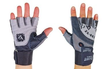 Перчатки атлетические с фиксатором запястья