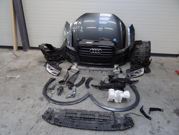 Разборка Audi Q3 8U капот фара дверь крыло бампер телевизор фонари