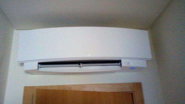Montagem de aparelhos ar condicionado,ventiladores,condutas
