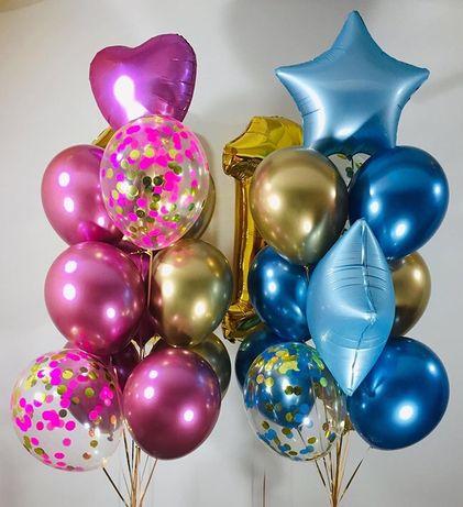 Гелиевые шарики, шары. Воздушные шары, шарики. Фотозоны, коробки.