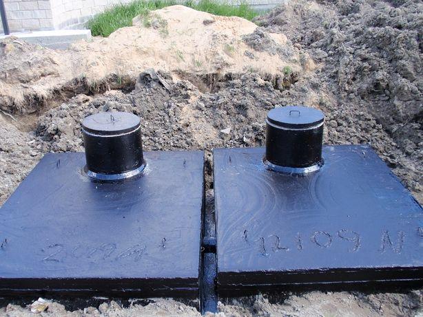 szambo szamba betonowe 8m3 zbiornik betonowy na gnojowicę deszczówkę
