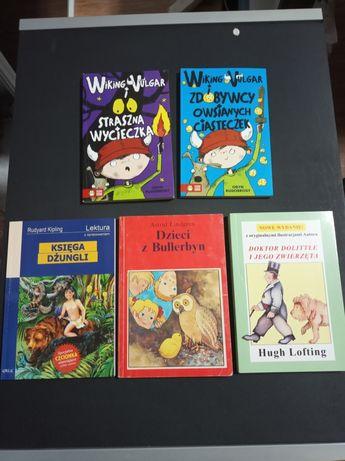 Książki dla dzieci, lektury. Cena za wszystkie razem