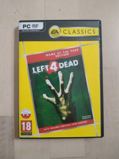 Left4Dead PC Game of the year edition