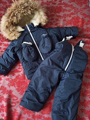 Комбінезон зимовий дитячий, роздільний. Куртка дитяча