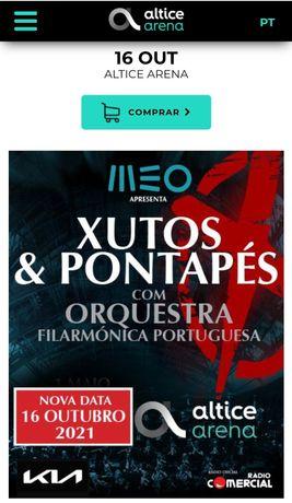 Concerto Xutos & Pontapés com Orquestra Filarmónica Portuguesa