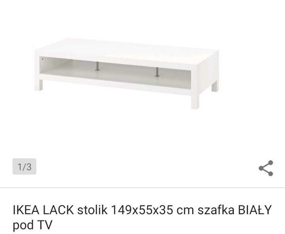 Szafka RTV IKEA Lack