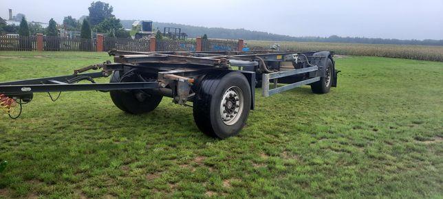 Schmitz Gotha AFW 18 rama przyczepa bdf podwozie