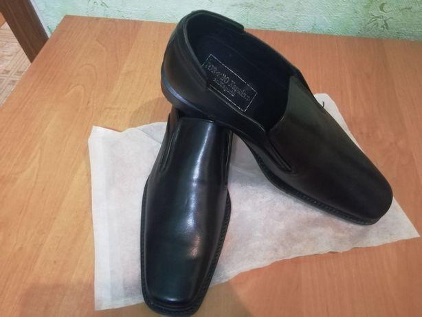 Кожаные мужские туфли, 2950 руб