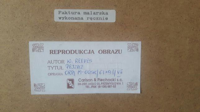 PEJZAŻ reprodukcja Carlson&Piechocki