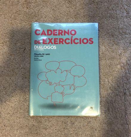 """Caderno de Atividades Filosofia 10° ano """"Diálogos"""" NOVO"""