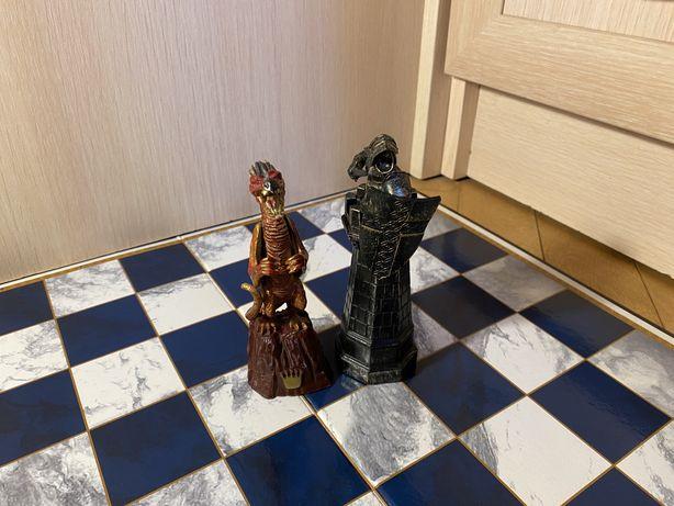 Шахматы Гарри Поттер фигурки доска лот-150грн