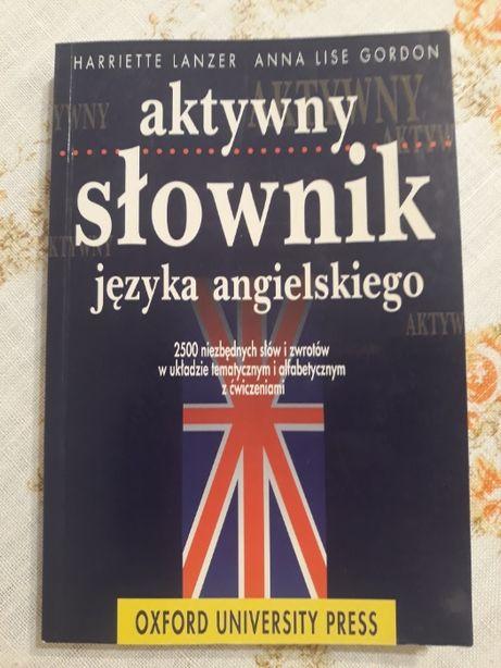 aktywny słownik języka angielskiego angielski nauka Anna Gordon Lanzer