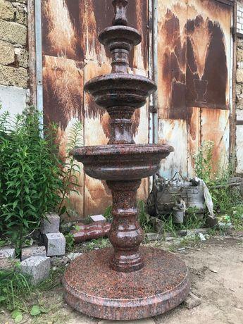 Фонтан из натурального камня. Для дома, сада и дачи. Новый