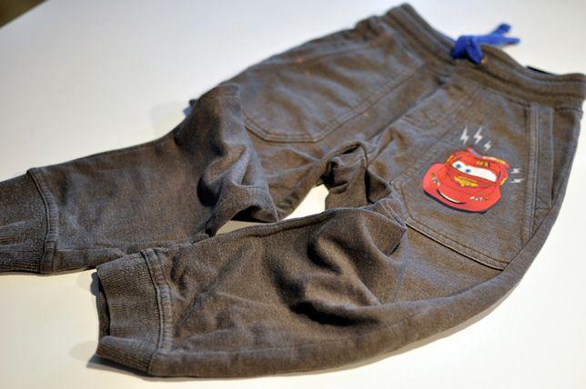 Spodnie dresowe H&M zygzak McQueen, rozmiar 98