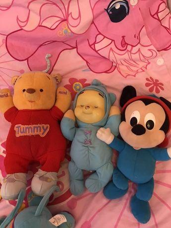 Zestaw zabawek niemowlęcych interaktywne cena za 3 sztuki