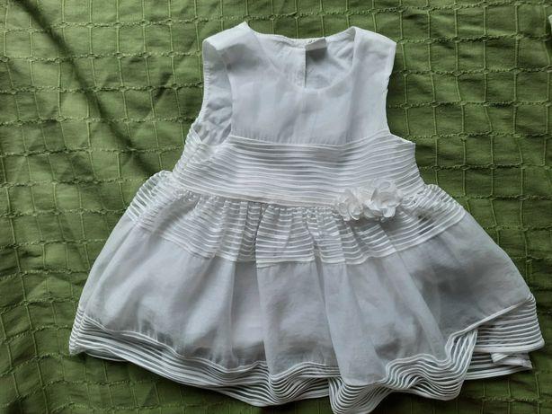Sukienka, komplet na chrzciny
