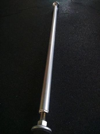 Drążek rozporowy w futrynę 90 cm/ 80 cm Masywny