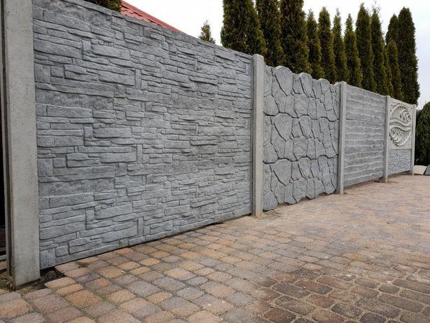 Ogrodzenia betonowe h-1,5m PROMOCJA