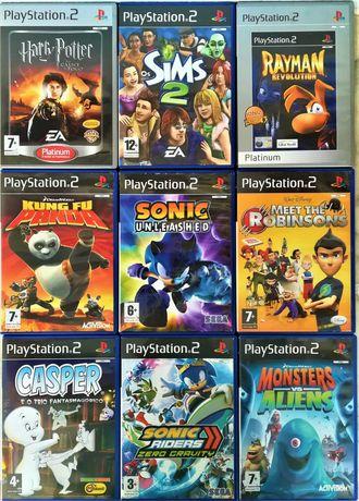 Jogos Infantis Playstation 2 (PS2)