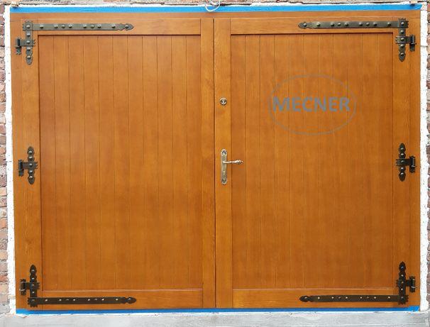 Brama garażowa drewniana