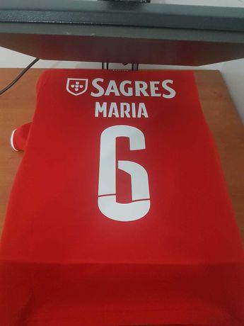 Nova camisola SL Benfica - coloco nome e número