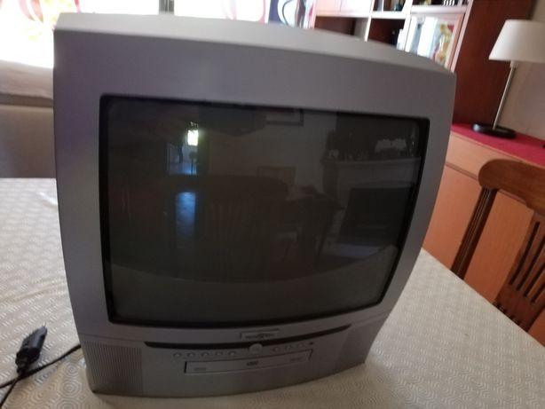 TV com Leitor CD ecrãn 37 cm