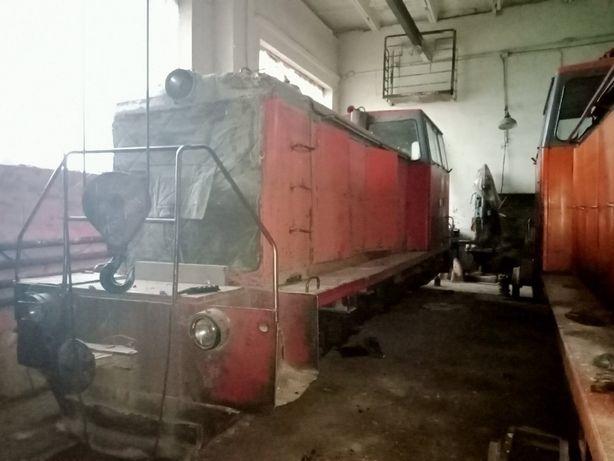 Тепловоз-локомотив вузькоколійний ТУ 6А