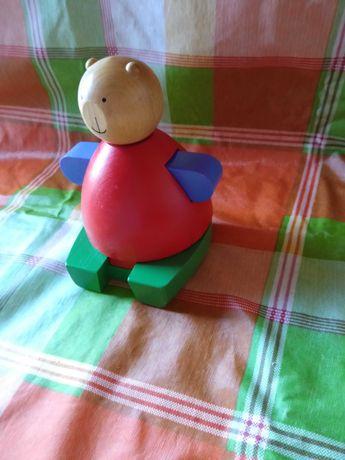 Urso madeira desmontável - brinquedo bebé dos 9 m aos 24 m