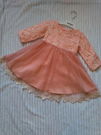 Платтячко рожеве нарядне.