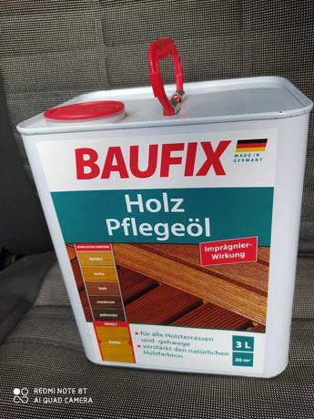 Масло для покрытия деревянных поверхностей Baufix, 3л. Германия