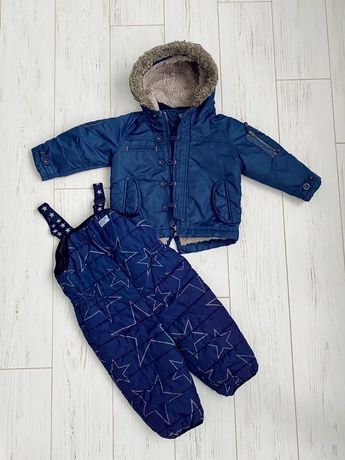 Парка куртка штаны комбинезон еврозима Next 12-18 (86 см)(как Zara,HM)