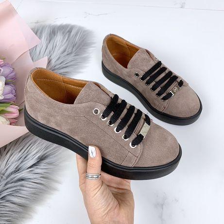 Обувь натуральный замш
