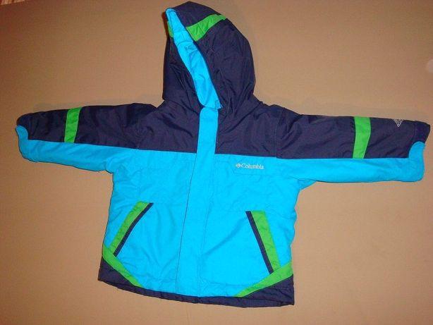 Зимний комплект б/у (куртка+полукомбез) Columbia р.24 мес.(1,5-2года)