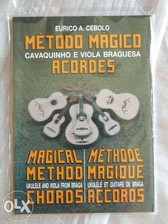 Método para aprender a tocar cavaquinho.
