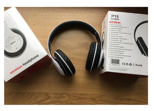 Беспроводные наушники P15 Wireless Headphone, гарнитура