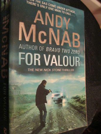 andy mcnab for valour Энди Макнаб книга на английском языке триллер