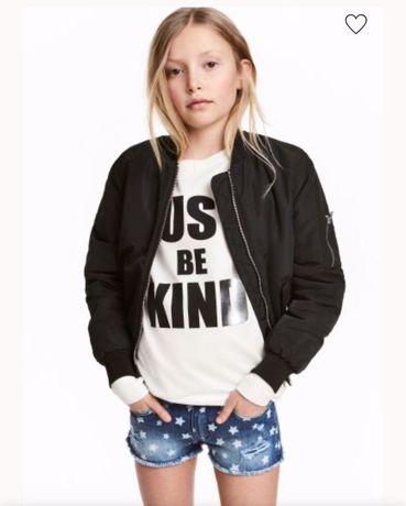 Свитшот, свитер, свитерок для девочки подростковый just be kind h&m