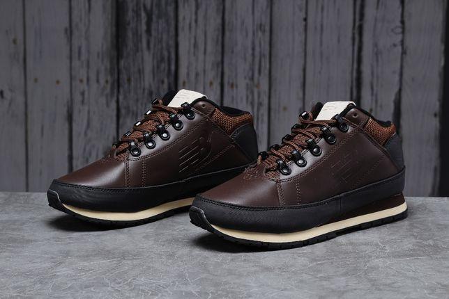ТОПОВЫЕ Мужские кожаные демисезонные кроссовки New Balance 754 4цвета!