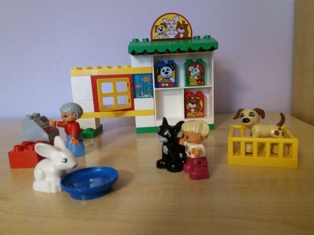 Klocki Lego DUPLO sklep ze zwierzętami