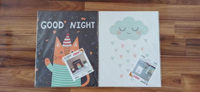 2 zestaw plakatow do dziecięcego pokoju dla dziecka naklejki