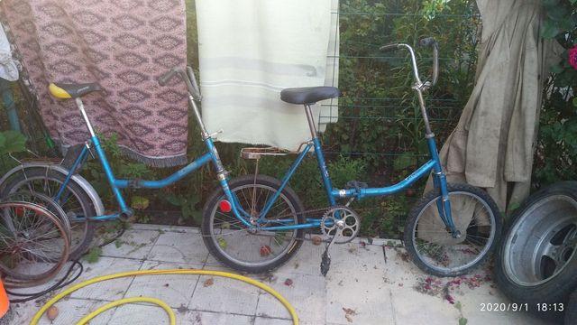 Тандем велосипед десна аист