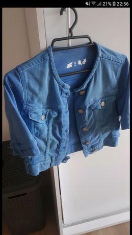 Kurteczka jeansowa 36