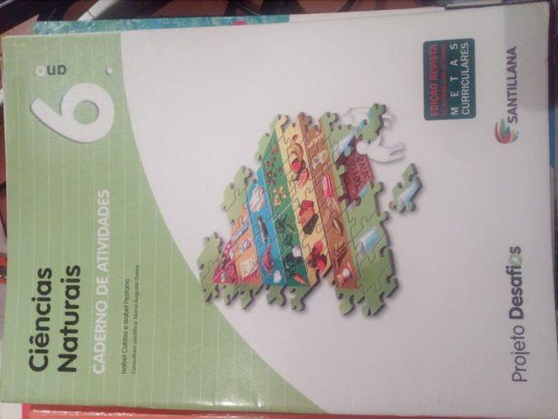 Caderno actividades 6° ano * Ciências Naturais * Projeto Desafios