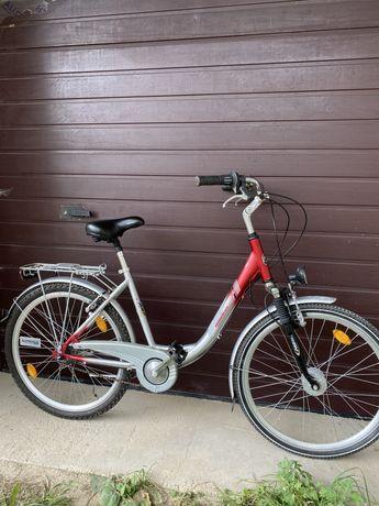 Велосипед алюмінієвий з Німеччини планетарка ідеальний стан