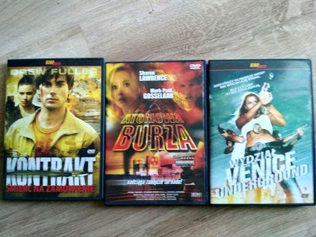 Trzy płyty z Filmami na DVD