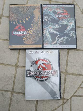 Jurassic Park I , II , III Napisy PL