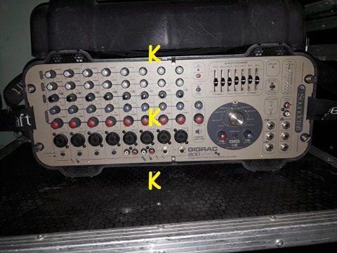 Soundcraft Gigarac 600 - powermixer