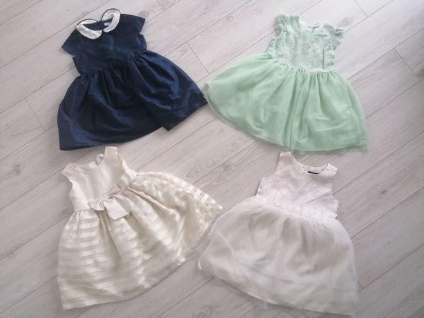 Sukienki spodniczki r. 98